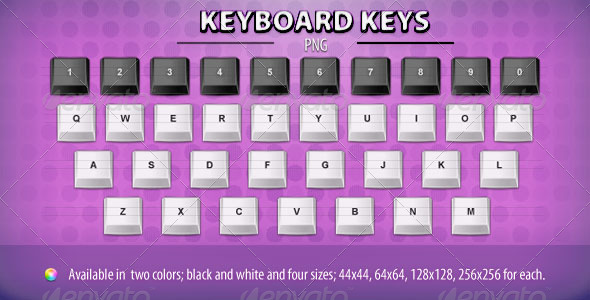 GraphicRiver Keyboard Keys 235444