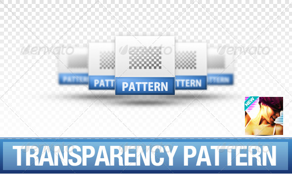 GraphicRiver Seamless Transparency Pattern 236016