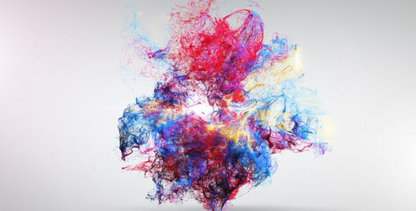 After Effects Project - VideoHive Colorful Explosion Logo Reveal 2031232