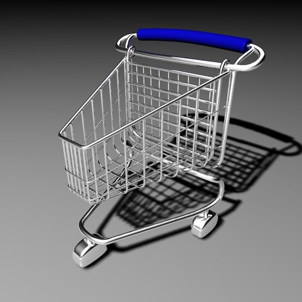 3DOcean Shopping Cart 77461
