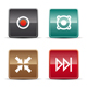 Glossy Internet Icons - Set 2 - GraphicRiver Item for Sale