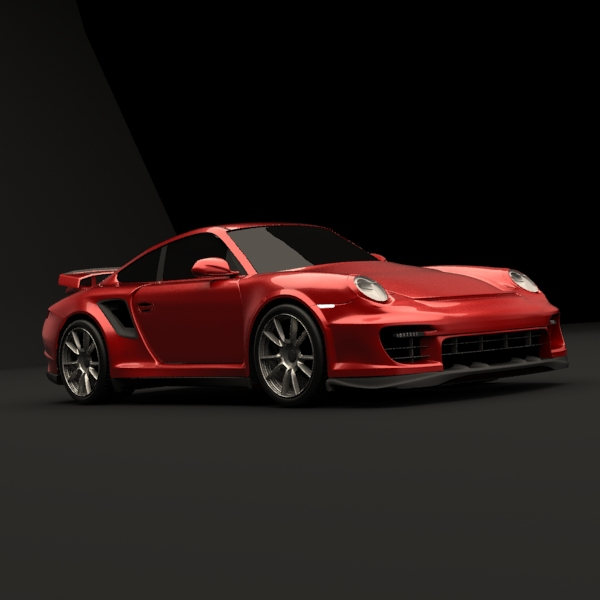 Porsche Carrera GT2 RS - 3DOcean Item for Sale