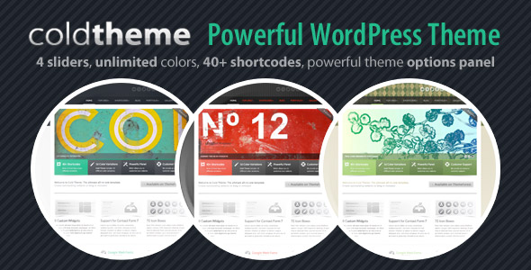 Cold Theme - Powerful WordPress Theme - Cold Theme - Powerful WordPress Theme