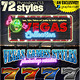 VEGAS GAMES STYLES: 72 Photoshop Styles - GraphicRiver Item for Sale