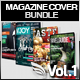 4x Magazine Cover Bundle Vol.1 - GraphicRiver Item for Sale