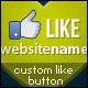 CUSTOM LIKE BUTTON - GraphicRiver Item for Sale