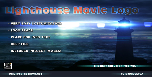 After Effects Project - VideoHive Lighthouse Movie Logo 236163