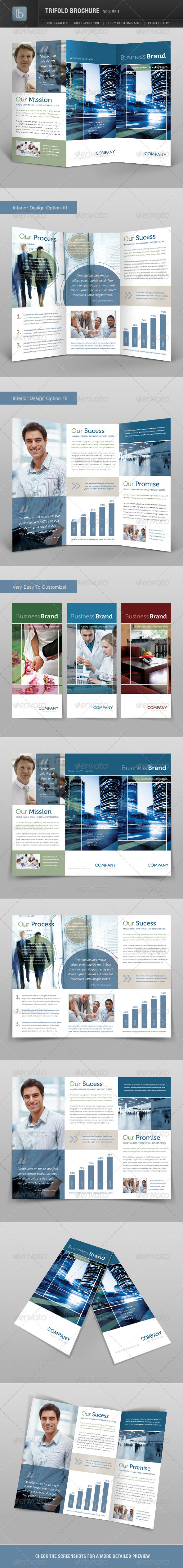 Trifold Brochure | Volume 4 - Corporate Brochures