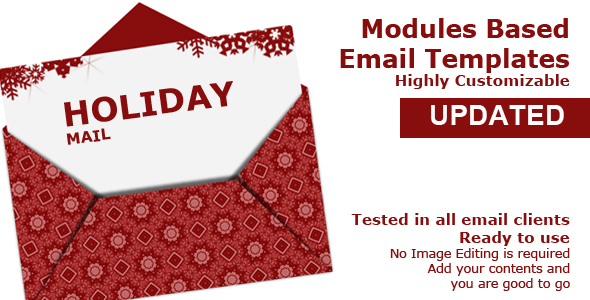 Holiday Mail - Newsletters Email Templates