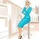 Businesswoman at Office - GraphicRiver Item for Sale