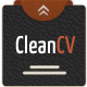 CleanCV2 - Professional Resume/CV Online - ThemeForest Item for Sale