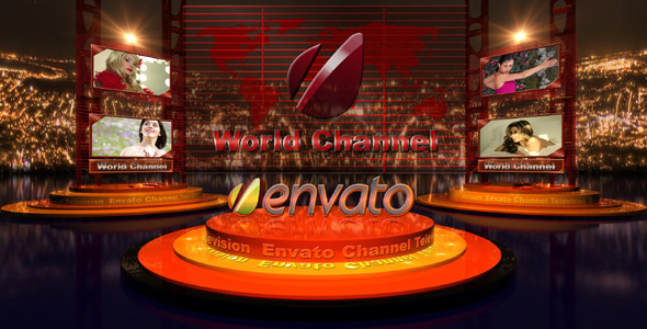 [VideoHive 2035462] Broadcast Design Tv Image | After Effects Project