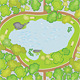 Park plan - GraphicRiver Item for Sale