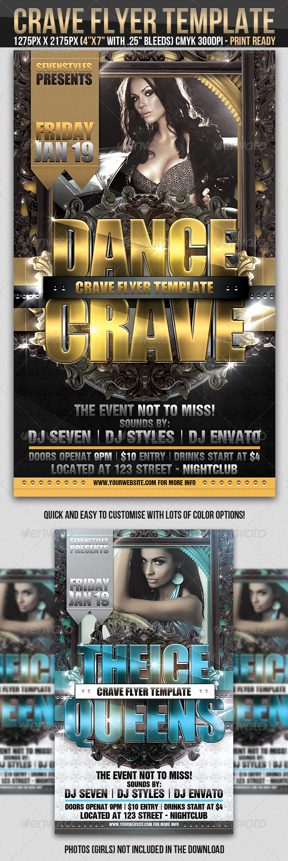 GraphicRiver Crave Flyer Template 237288