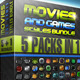 Movies &amp;amp; Games Styles Premium BUNDLE - GraphicRiver Item for Sale