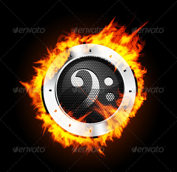 Loudspeaker on Fire  - Media Technology