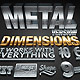 Dimensions Metal Version - 3D Generator Action - GraphicRiver Item for Sale