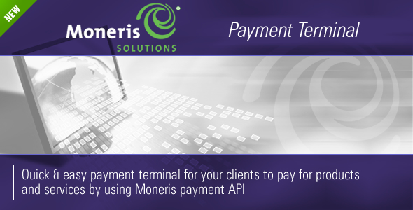 CodeCanyon Moneris Payment Terminal 237597