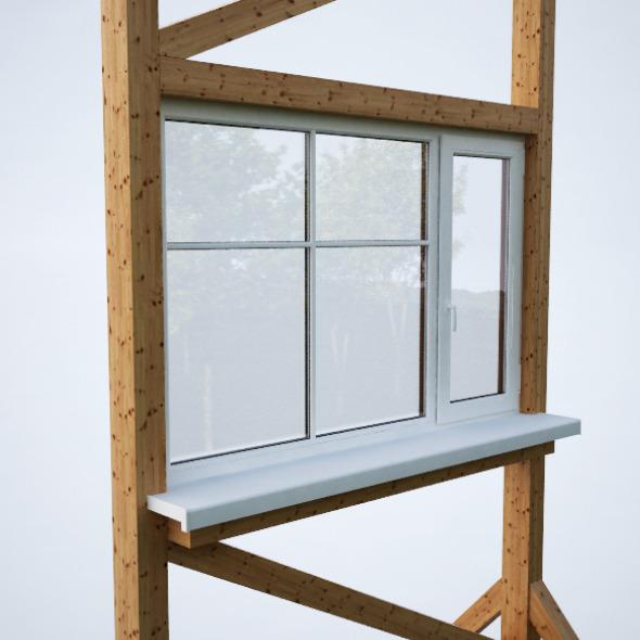 3DOcean Plastic window 2033856