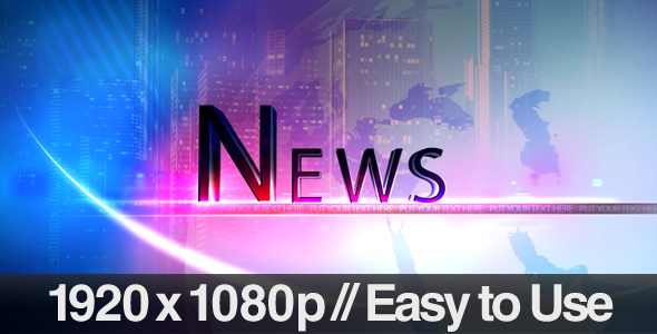 After Effects Project - VideoHive Television News Segment Bumpers 237768