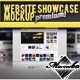 Website Showcase Mockup  - GraphicRiver Item for Sale