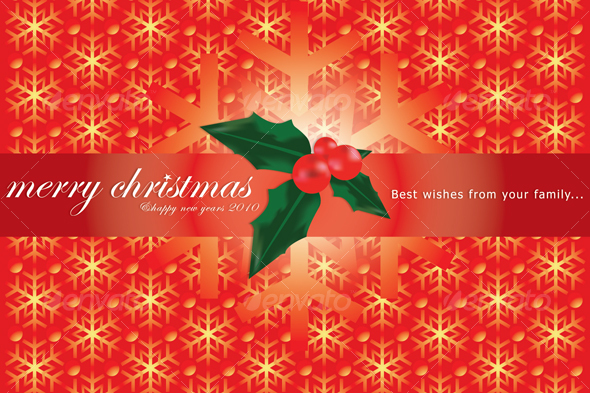 Chirstmas Card - Miscellaneous Print Templates