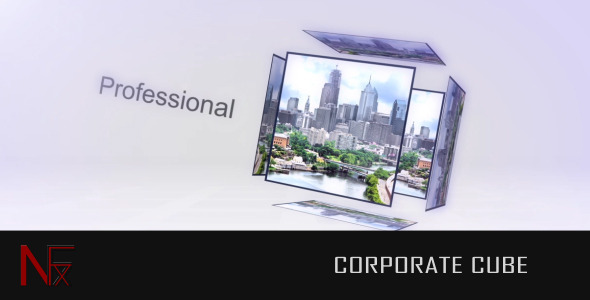After Effects Project - VideoHive Corporate Cube 2048367