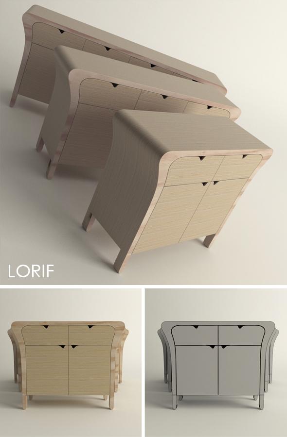 3DOcean Punkalive Pin cabinet 238146