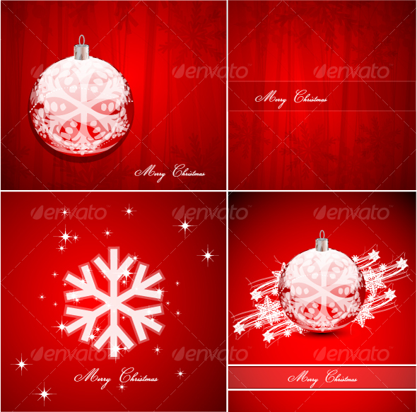Pack of Christmas background - Christmas Seasons/Holidays
