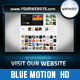 Blue Motion Presentation - VideoHive Item for Sale