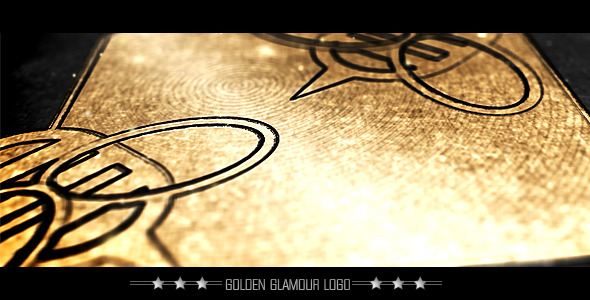 After Effects Project - VideoHive Golden Glamour Logo 2055611