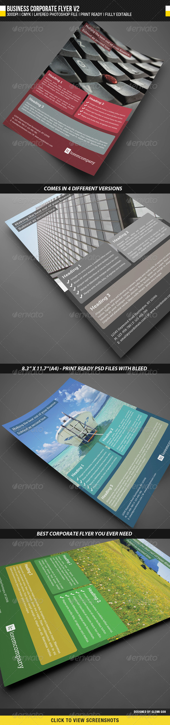 Business Corporate Flyer V2 - Corporate Flyers