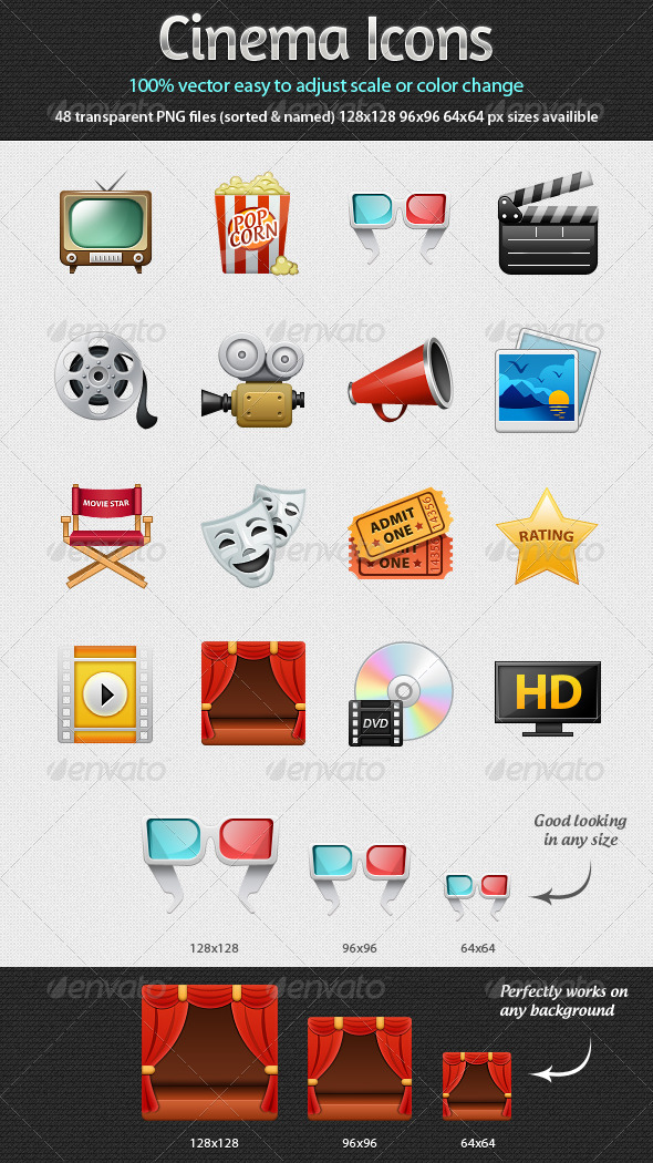 Cinema Icons - Web Icons