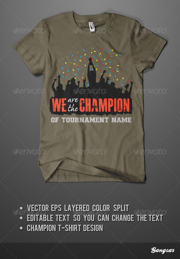GraphicRiver Champion T-Shirt 2062251