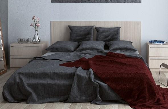 3DOcean Realistic Bed 3D Model 2063481