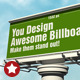 3d Billboard Mock-up - GraphicRiver Item for Sale