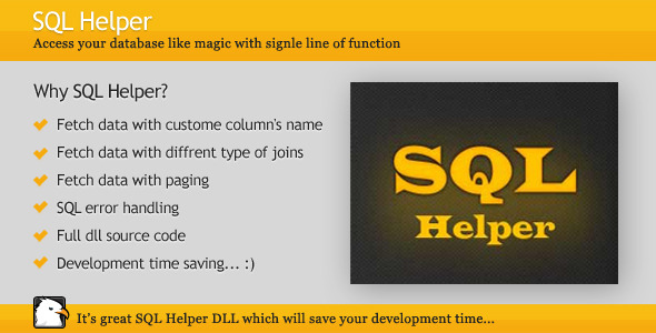 CodeCanyon SQL Helper 2069486