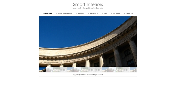 Smart Interiors Drupal 6 Theme - Drupal CMS Themes