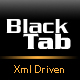 Black-Tab (XML- Driven) - ActiveDen Item for Sale