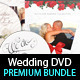 Wedding DVD Cover & Disc Label Premium Bundle - GraphicRiver Item for Sale