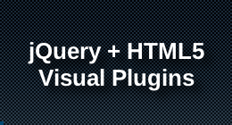 jQuery + Html5 Visual Plugins