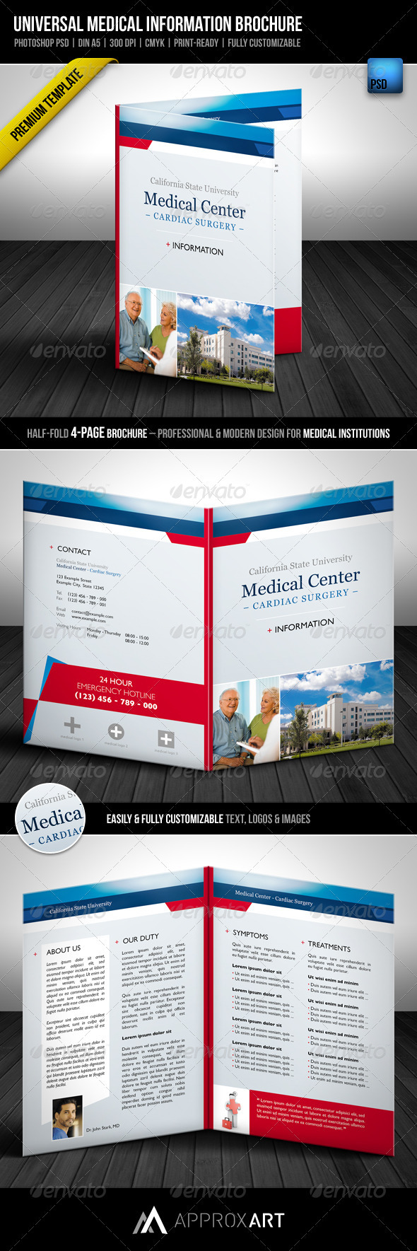 GraphicRiver Universal Medical Information Brochure 2072062