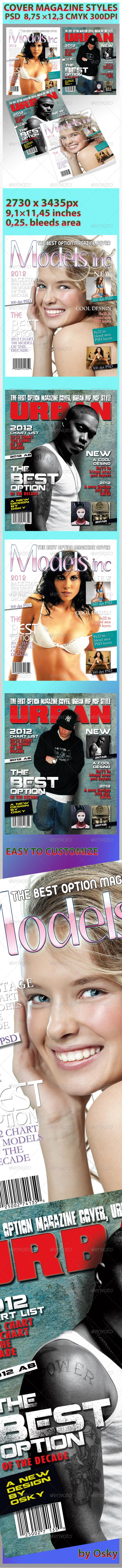 GraphicRiver Magazine Cover Style 238407