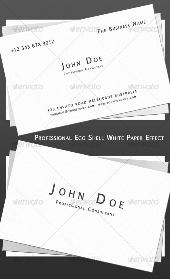 GraphicRiver Professional Old School Business Card 78931