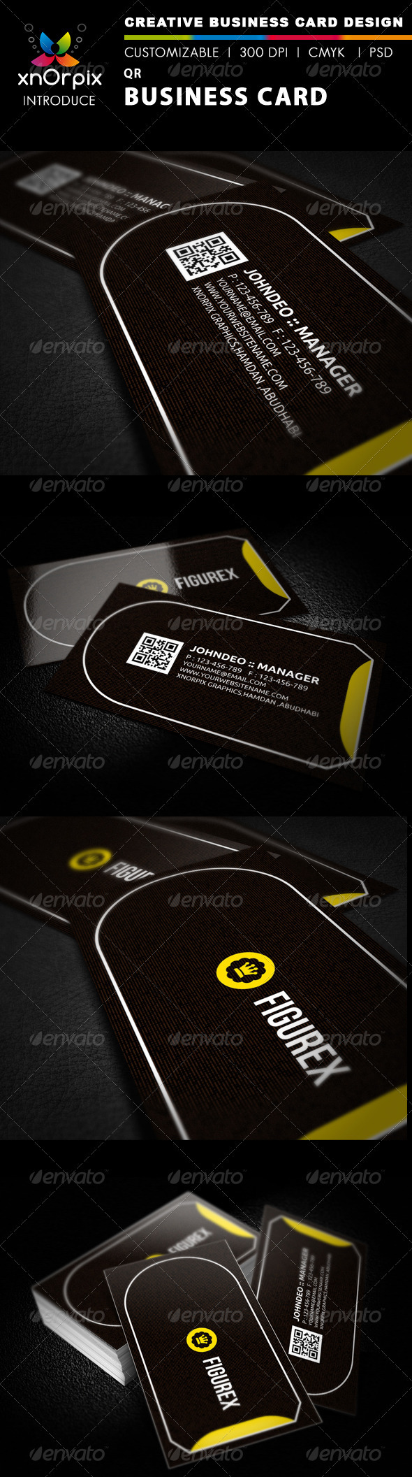 GraphicRiver QR Business Card 2080376