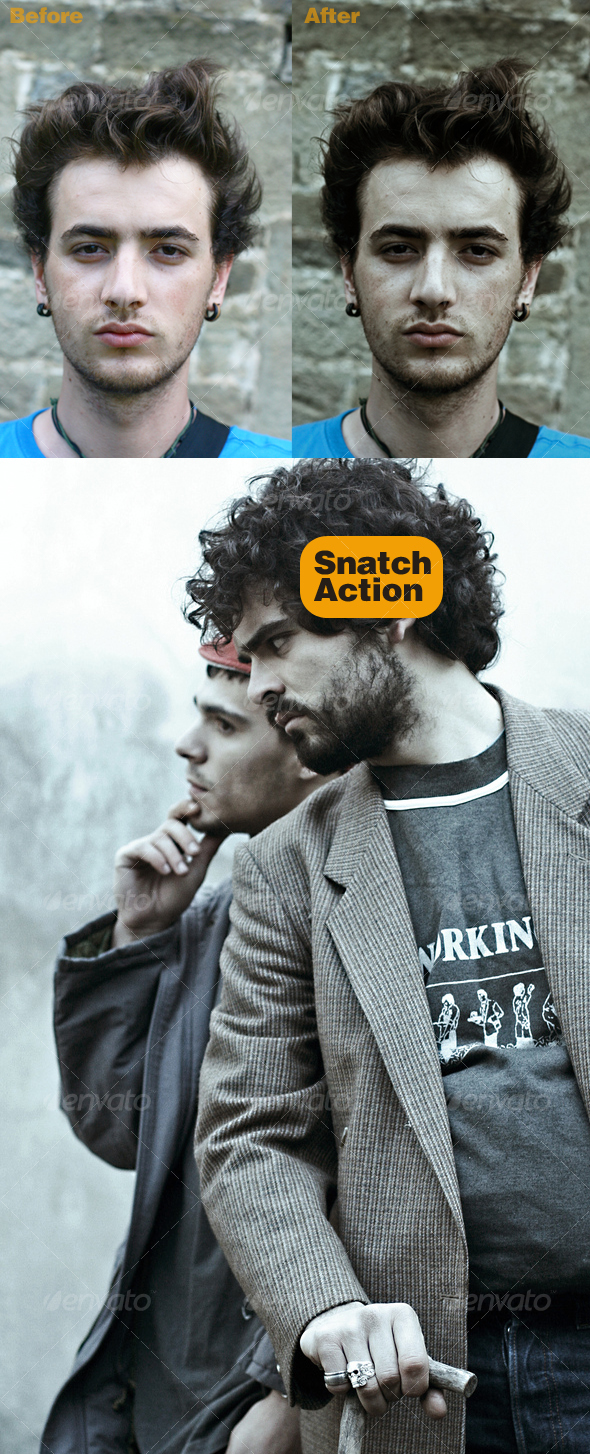 Snatch Movie Colors - Photo Effects Actions