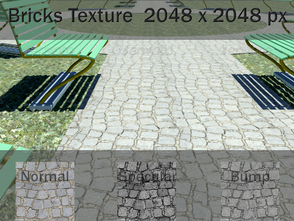 3DOcean Ground Paving Texture 2081720