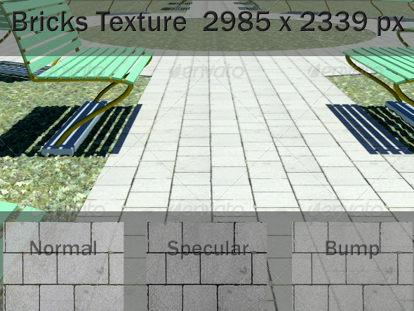 3DOcean Ground Paving Texture 2082063