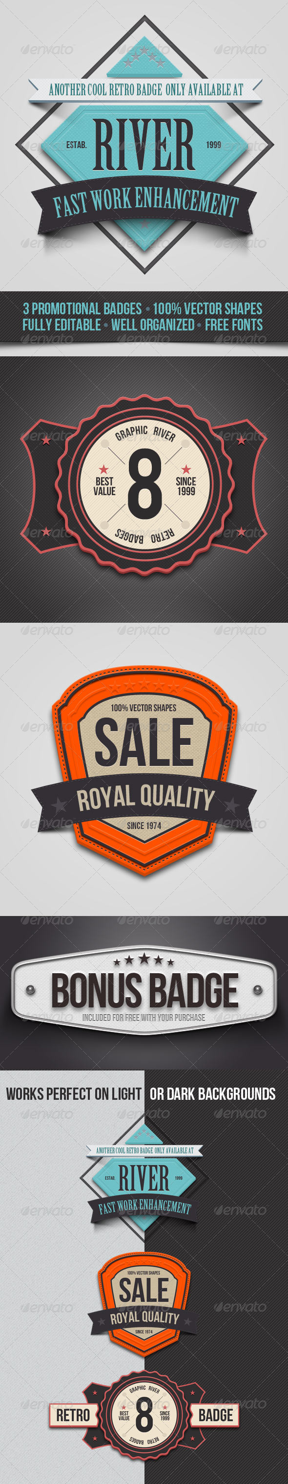 Promo Badges - Badges & Stickers Web Elements