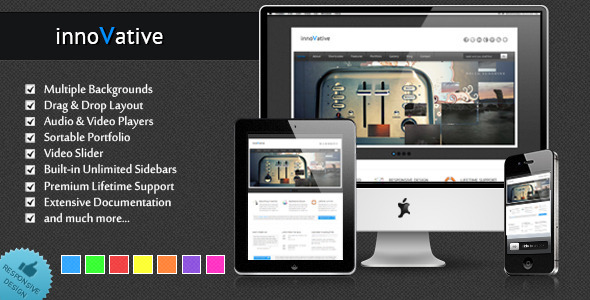 innoVative - Responsive WordPress Theme - Business Corporate